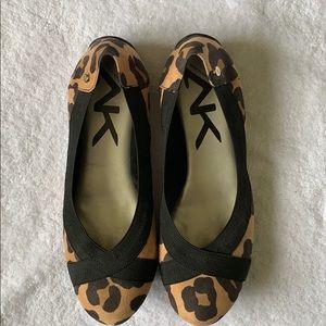Anne Klein Sport Leopard Flat
